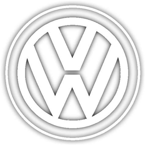 volkswagen logo black and white volkswagen sign symbols pinterest