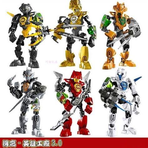 Decool Heroes Seri 10 Set 6 decool factory figure starwar solider stringer stormer rocka nex aulk frno building blocks