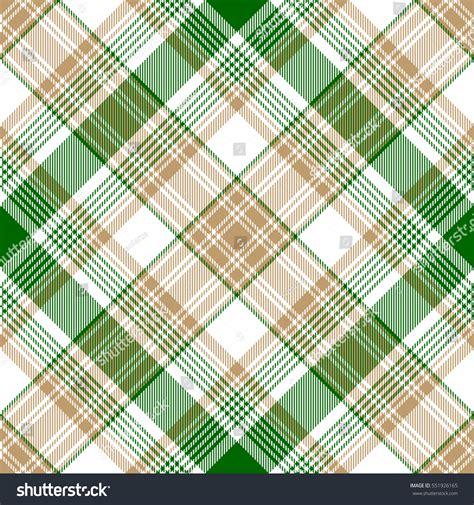 diagonal seamless pattern as tartan plaid vector image green gold check diagonal plaid seamless stock vector