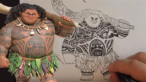 maui tribal tattoos dibujo de moana como dibujar a de moana how to