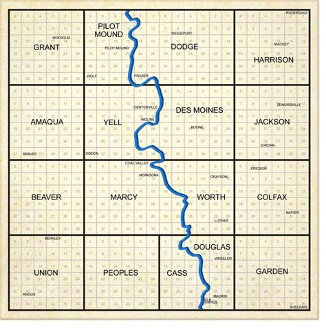 boone map boone county township map my