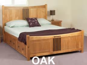 Size Bed Frames With Storage Drawers Sweet Dreams Curlew King Size Pine Bed Frame Cherry