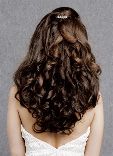 wedding hairstyles curls down down curly wedding hairstyles