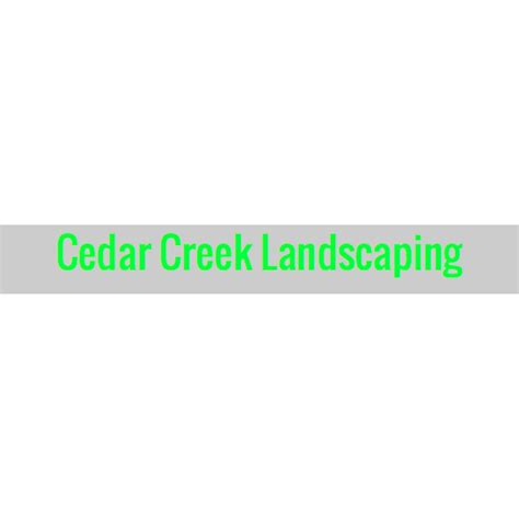cedar creek landscaping cedar creek landscaping coupons near me in 8coupons