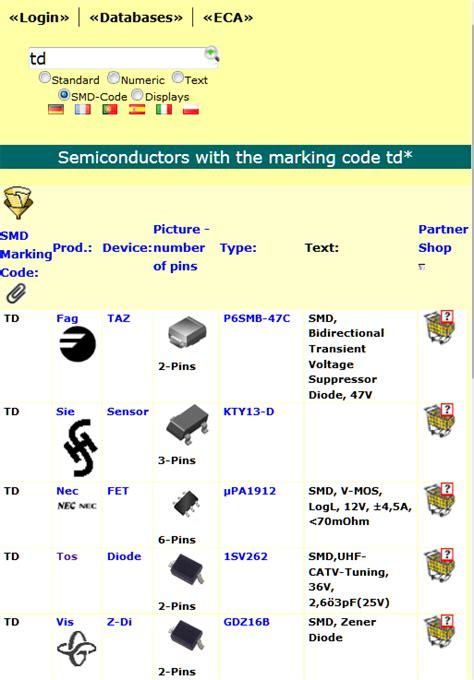 smd diode marking b3 ecadata alle datenbanken eca electronic
