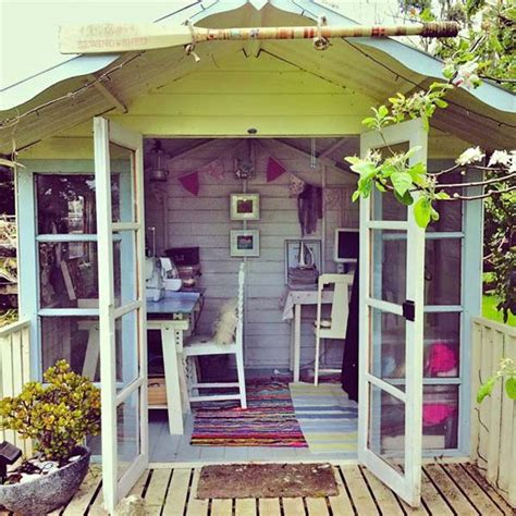 she shed office backyard shed office in which you would love to work
