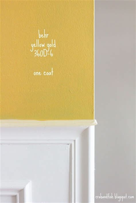 behr yellow gold for the home
