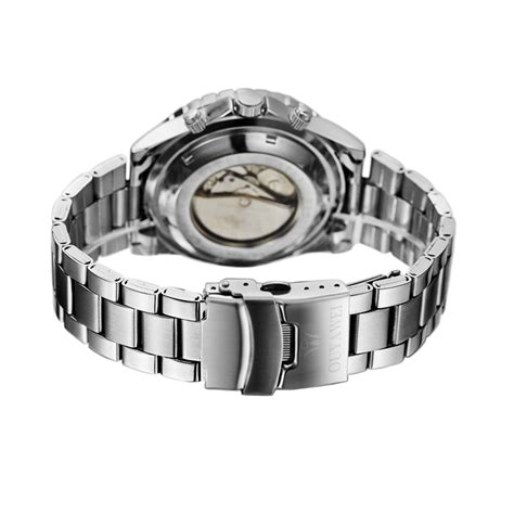 ouyawei luxury stainless steel automatic mechanical