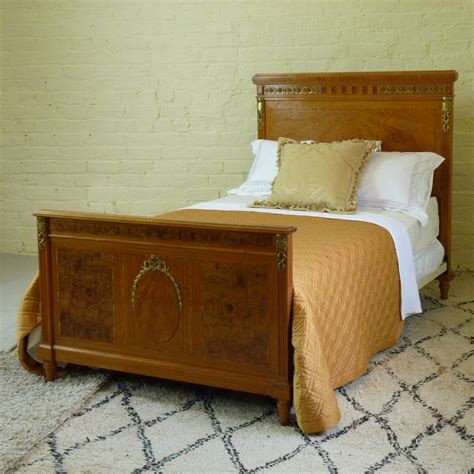 matching twin beds matching pair of twin empire style beds at 1stdibs