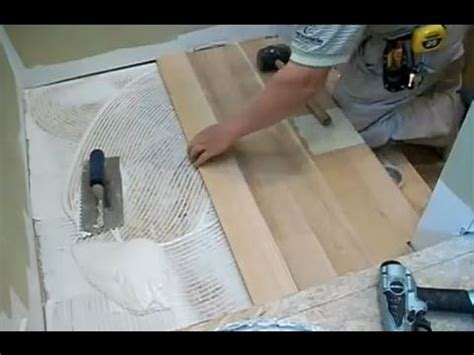 How to Install Hardwood Stairs: Stair Landing Installation