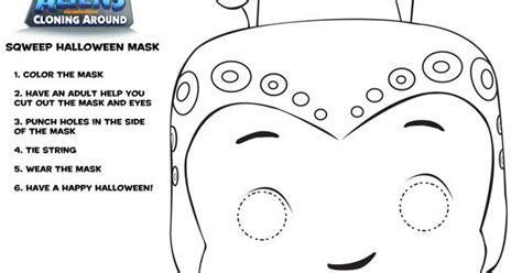 printable masking film monsters vs aliens squeeb mask printable for halloween
