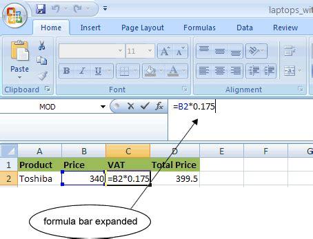 Spreadsheet Formulas For Dummies by Ism 3004 Week 5 Clear Formulas