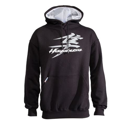 Suzuki Sweatshirt Hayabusa Hoodie Black Babbitts Suzuki Partshouse