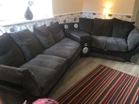 corner sofa with speakers corner sofa with bluetooth speaker dudley sandwell