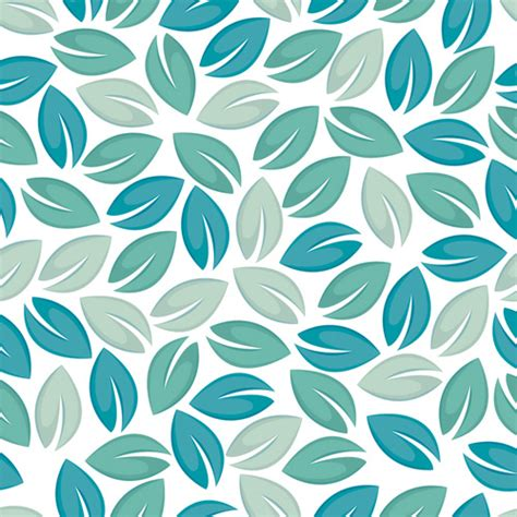 pattern background free vector download set of seamless leaves pattern vector free vector in
