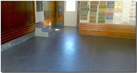 Applying Garage Floor Paint and Epoxy   House Painting