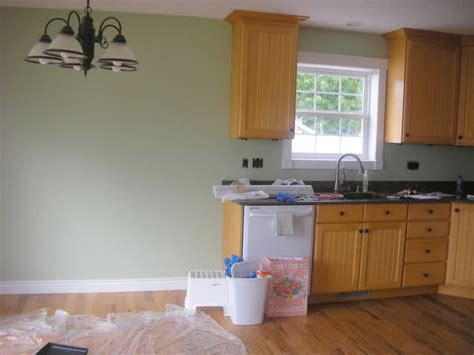 paint color to go with oak cabinets colour