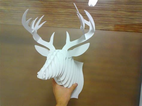 diy cardboard deer template foto0072 jpg