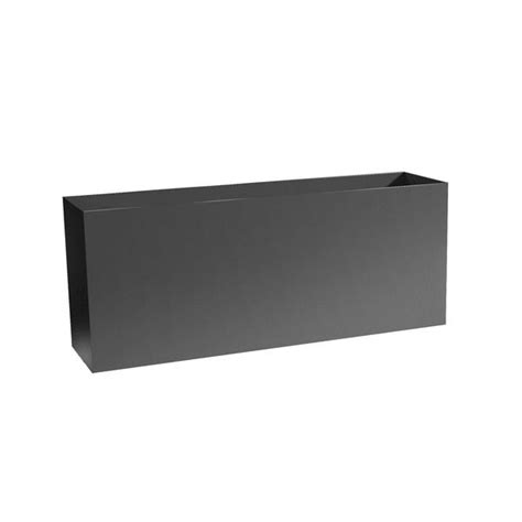 low profile metal planter boxes aluminum 16 quot 32