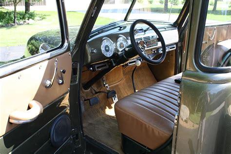 New Model Home Interiors 1949 Chevrolet 3100 Custom Pickup 174649
