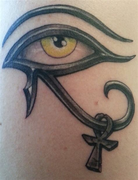 eye of horus amp ankh tattoo pinterest tattoo tattoo
