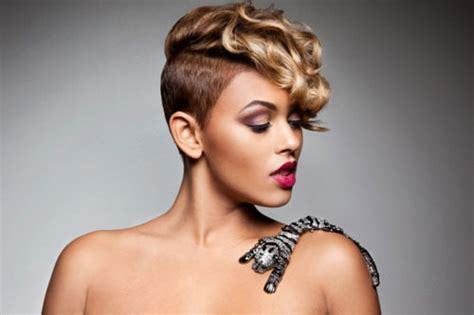 how to style half shaved haircut for women 25 short hair for black women 2012 2013 short