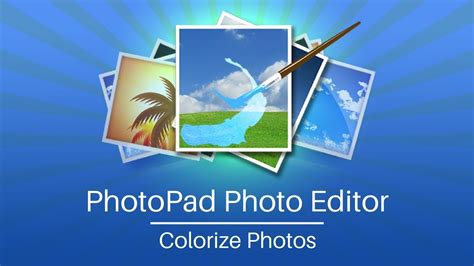 how to add color to a black and white photo add color to black and white photos with photopad