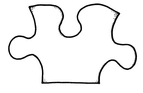 puzzle piece coloring page az coloring pages