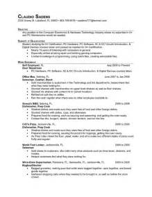 Cook Resume Objective Exles by Line Cook Resume Objective Exles