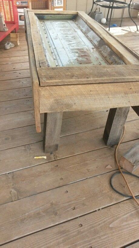 chevy tailgate coffee table   diy furniture