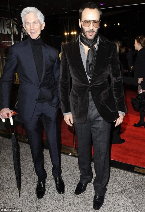 Tom Ford Boyfriend Tom Ford Casually Drops Bombshell He Is Married To Richard