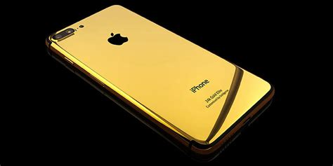 Iphone 7plus Custom customise your device luxury 24k gold customisation