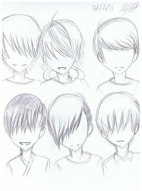 guy hairstyles anime artistic advice thread