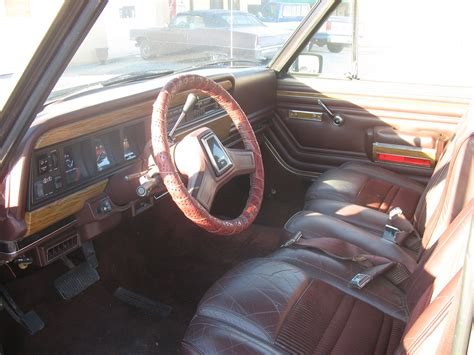 1990 jeep wagoneer interior 1990 jeep grand wagoneer pictures cargurus