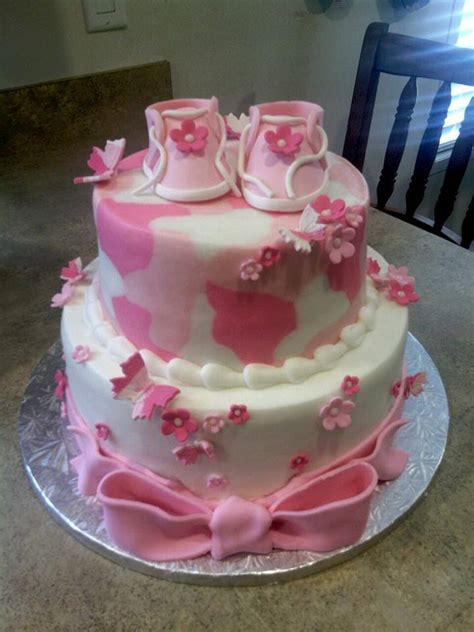 Pink Camo Baby Shower Decorations by Pink Camo Baby Shower Cake Flickr