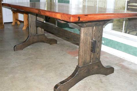 mesquite dining table woodworking