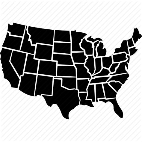 america map icon american country democracy america united states