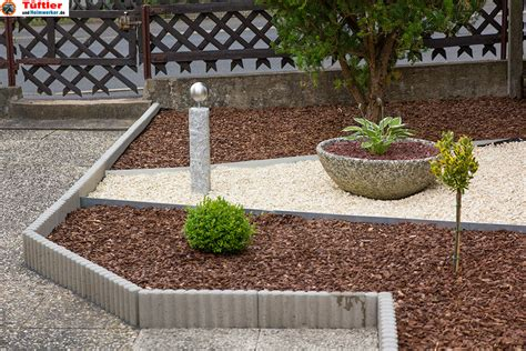 vorgarten deko gartendeko granits 228 ule und beton deko selbst