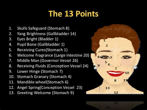acupressure points for healthy skin facial acupressure facial acupressure slide show