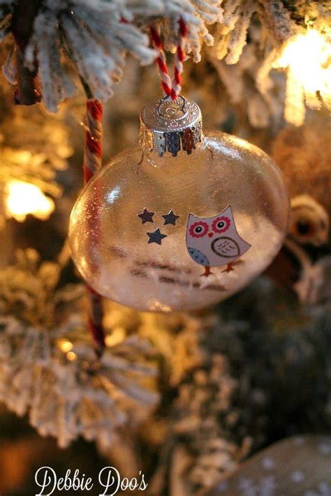how to make your own christmas ornaments debbiedoos