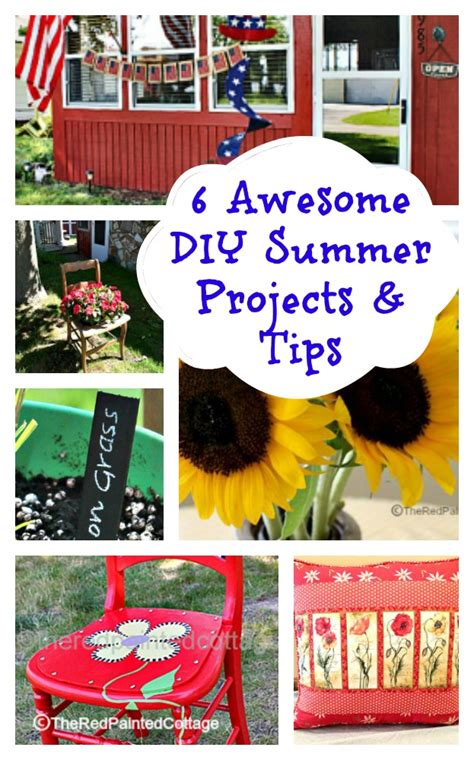 most popular diy projects 2016 6 awesome diy summer projects and tips the red painted