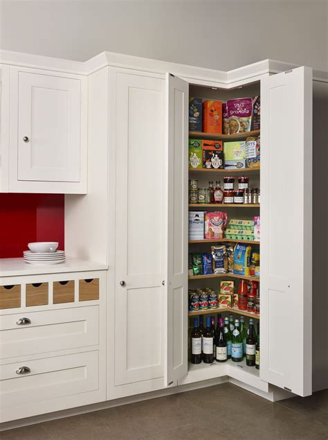 corner kitchen pantry ideas a harvey jones corner larder a great solution for