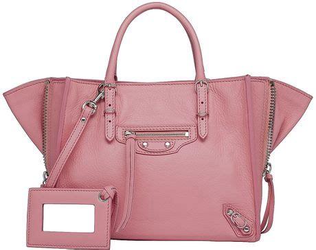 Tas Wanita Fashion Bottega Papier Mini balenciaga mini papier a4 zip around flamingo in pink