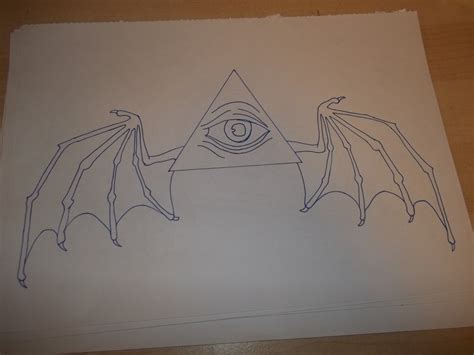 all seeing eye with wings by nathand251 on deviantart