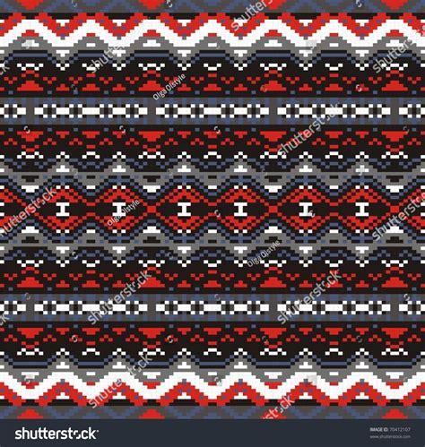jacquard pattern vector seamless jacquard knit vector stock vector 70412107