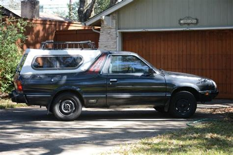 1985 subaru brat for sale 1985 subaru brat gl v4 manual for sale in austin texas