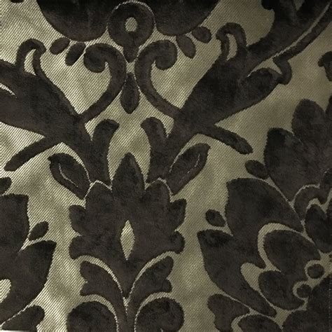 Patterned Velvet Upholstery Fabric by Radcliffe Lurex Burnout Velvet Fabric Damask Pattern Drapery Uphol Top Fabric