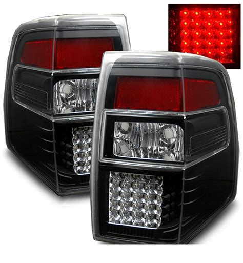 ford expedition tail lights 07 10 ford expedition euro style led tail lights black