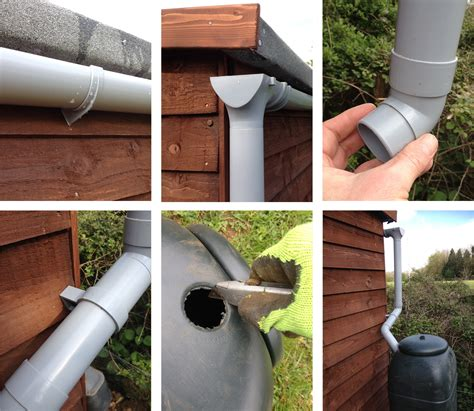 Guttering For Shed by How To Put Up Shed Guttering Two Thirsty Gardeners