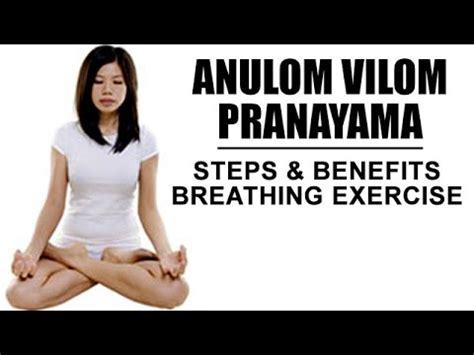 Anuloma Viloma Pranayama Breathing Exercise by Anulom Vilom Pranayam The Alternate Nostril Yogic Breathing
